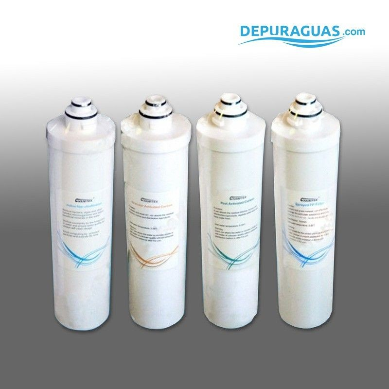 Pack de filtros RO 500 1:1
