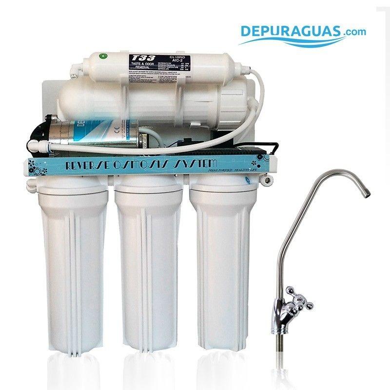 Equipo de osmosis doméstica RO DEPURA-300 FD 5ET